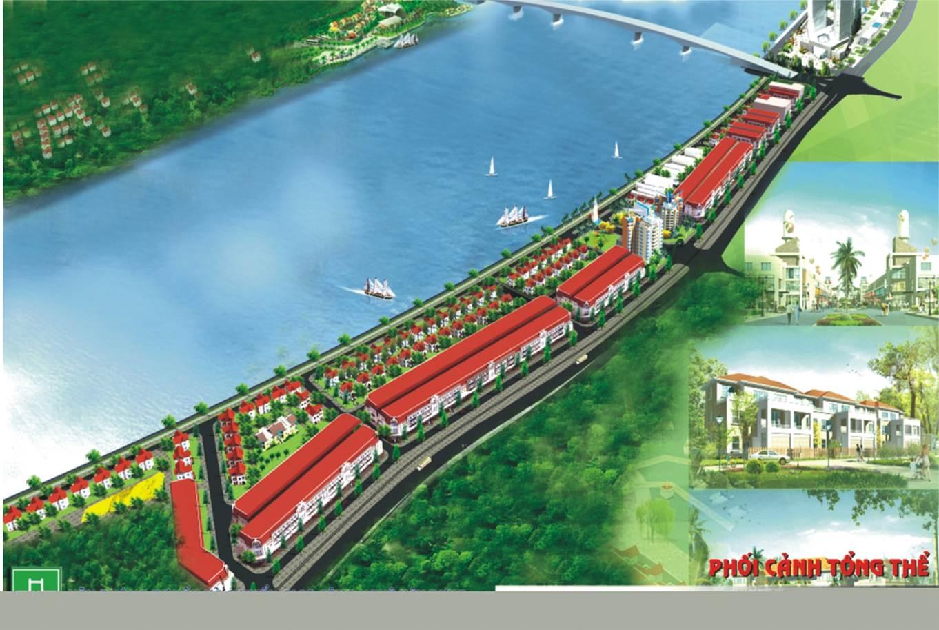 Dự án đất nền Tài Tâm Riverside Phủ Lý